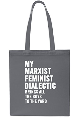 Brings Tote Shopping Yard Marxist Beach Grey The Feminist Black Gym My litres All Dialectic x38cm Boys 10 42cm The To Bag q1dpdztPvW