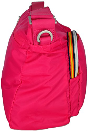 K-Way K-Toujours Shoulder Bag Magenta