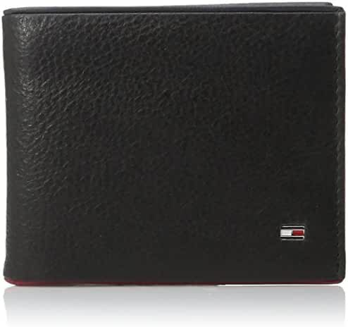 Tommy Hilfiger Men's Raymond Pass Case Wallet with Removable Card Holder