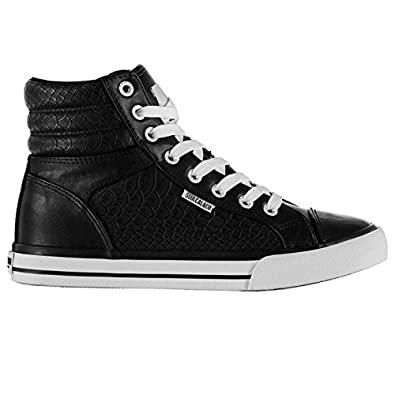 Soul Cal Soulcal Mujer Asti Hi Tops Zapatillas Calzado Casual Zapatos con Cordones afbqsvoSc