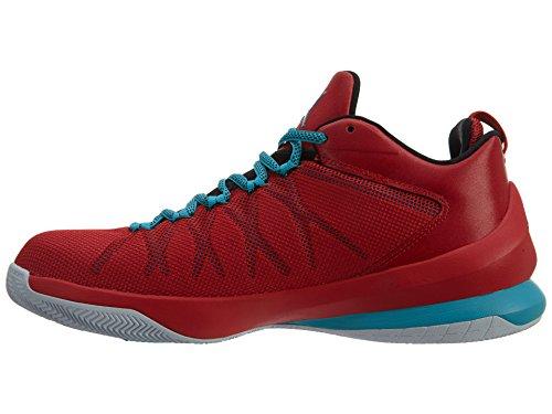 JORDAN CP3.VIII AE Nike Uomini Mod. 725173 Red/Black/White/Turquoise Blue