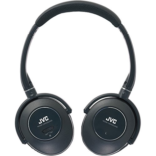 JVC HANC250 Noise Cancelling Headphones - Black by JVC