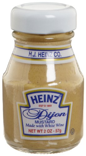 Heinz Dijon Mustard (2 oz Packets, Pack of 60) ()
