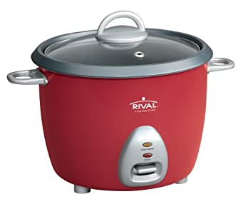 Rival RC61 3-Cup uncooked resulting in 6-Cup cooked Rice Cooker : Cook rice perfect every time if u are looking for a small