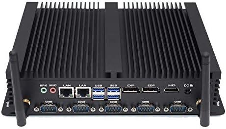 8. Gen DDR4 sin Ventilador PC Industrial Computadora de Escritorio ...