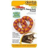 Petstages Catnip Plaque Away Pretzel