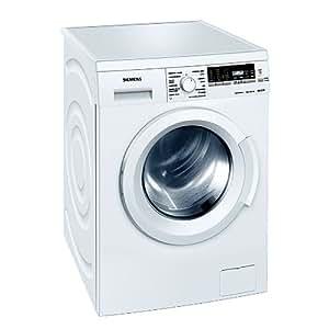 Siemens WM14Q468EE Independiente Carga frontal 8kg 1400RPM A+++ Color blanco - Lavadora (Independiente, Carga frontal, Color blanco, LCD, Izquierda, Botones, Giratorio)