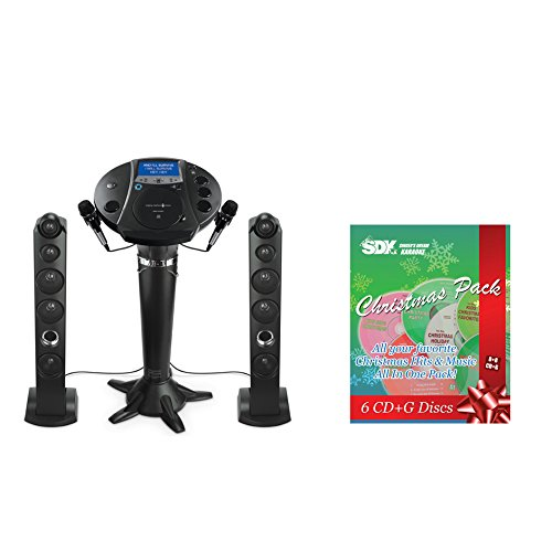 ISM1030BT All-In-One Karaoke System with 2 Mics and Christmas CDG -  Ace Karaoke, HSMGPK0007