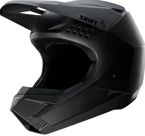 [해외] Shift 시프트 WHITE LABEL HELMET 2018모델 오프로드 헬멧 매트 블랙 L(59~60cm)