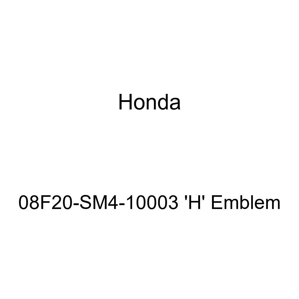 Genuine Honda 08F20-SM4-10003 H Emblem