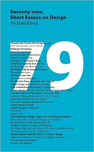seventy nine short essays on design michael bierut  seventy nine short essays on design michael bierut 9781616890612 com books