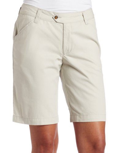 Dickies Women's 10 inches Cotton Flat Front Short, Stone, 10