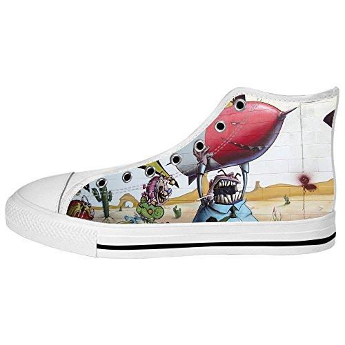 Custom Graffiti Womens Canvas shoes I lacci delle scarpe scarpe scarpe da ginnastica Alto tetto Venta Barata Genuino De La Venta En Línea qSRgTJY