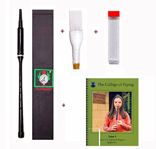 Gibson Practice Premium Chanter Kit (Long) - Learn to Play Bagpipes by Gibson