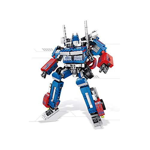 JQR Deformation Robot Hornets Chariots Flying Dragon Building Blocks Kid DIY Model Blocks Action Figure Educational Toys for Childre