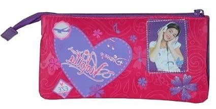 Violetta - Estuche Portatodo Violetta Disney Corazon 3 ...