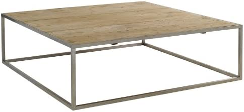 Grande Table Basse Carree 150 Cm Adam De Hanjel Amazon Fr