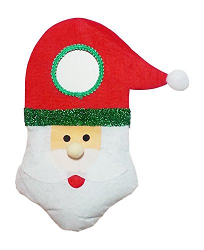 Christmas Santa Plush Felt Door Knob Hanger