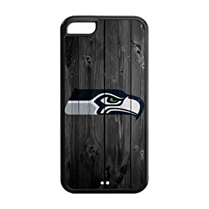 Customize Seattle Seahawks NFL Back Case for iphone 5c JN5C-1369