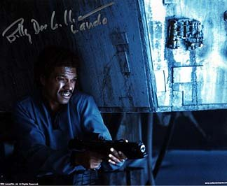 BILLY DEE WILLIAMS (Empire Strikes Back) 8x10 Celebrity Photo Signed In-Person from Iconographs