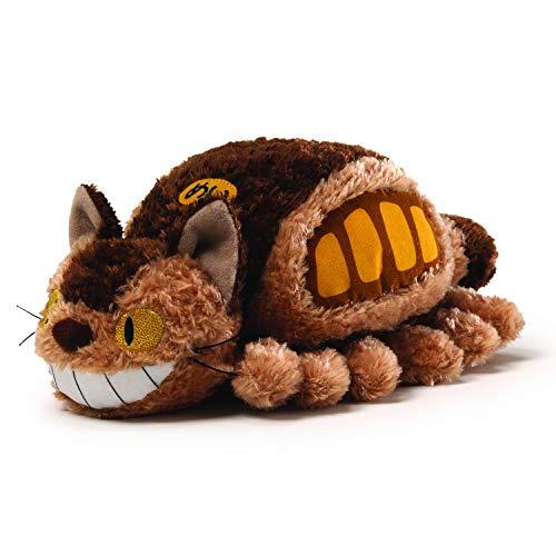 Studio Ghibli My Neighbor Totoro Fluffy Catbus Plush (Ghibli Brown Bag)