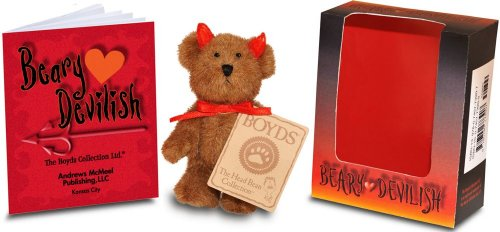 Boyds Halloween Bear - Beary Devilish