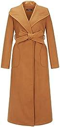 Amazon.com: Brown - Wool & Blends / Wool & Pea Coats: Clothing