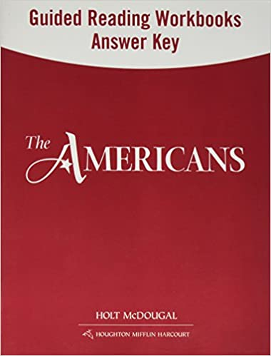 The Americans Guided Reading And Spanish English Guided