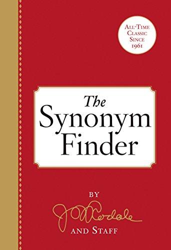 The Synonym Finder