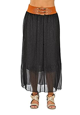 Just Love Skirts/Pleated Maxi Skirt