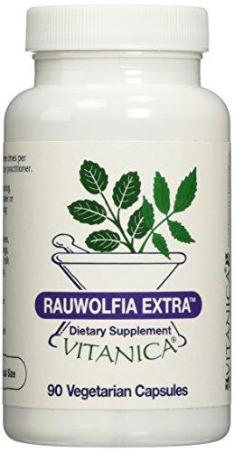 Vitanica Rauwolfia Extra, 90 Vegetarian Capsules