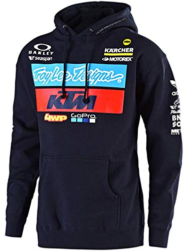 - Troy Lee Designs 2019 Youth KTM Team Hoody (Small)