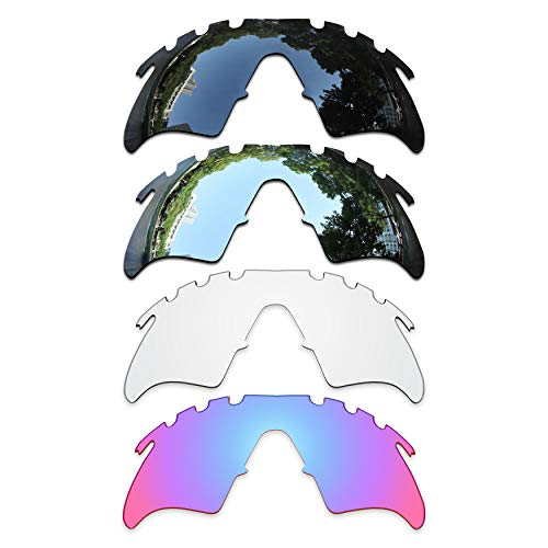 ToughAsNails Set of 4 Replacement Lenses Oakley M Frame Heater Vented Pack-BSHG5 -