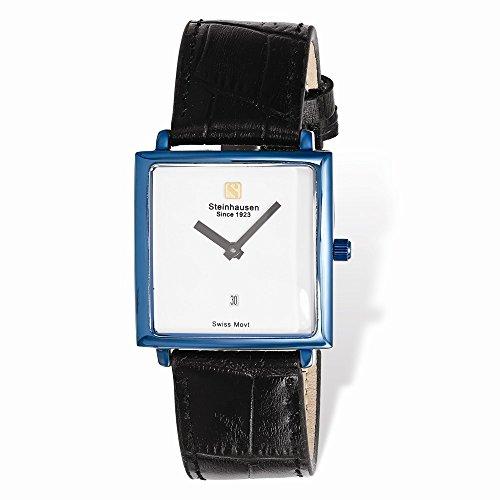 Ladies Steinhausen Artiste IP-Blue/Black Swiss Quartz Watch