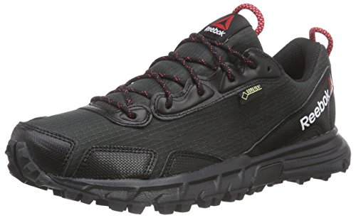 Reebok One Sawcut 30 GTX W, Damen Walkingschuhe, Schwarz (Black/Gravel/Chalk/Neon Cherry 000), 39 EU