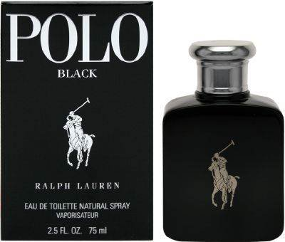 Ralph Lauren Polo Black Eau de Toilette Vaporizador 75 ml: Amazon ...