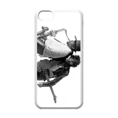 Bruce Springsteen And Clarence Clemons M5W25H4XH coque iPhone 5c case coque white P6673R