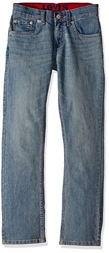 Levi's Boys' Big Slim Fit Elastic Waistband Jeans, Found, 10 (Boys Levis Size 10)