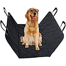 DTC Pet Supplies Seat Covers for Dogs, Cars/Trucks Vans/Suvs, Keep Your Back Seat Clean and Pet Hair Free, Easy to Install Elegant Heavy Duty Waterproof