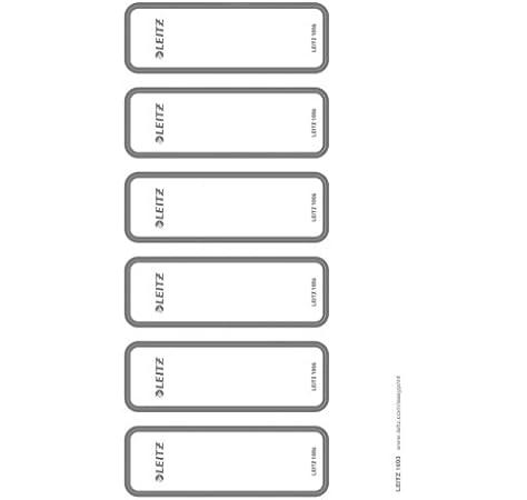 Leitz - Etiquetas Adhesivas para Lomo y para Lomo Imprimibles ...