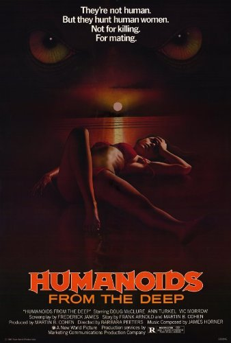 Humanoids from the Deep POSTER Movie (27 x 40 Inches - 69cm x 102cm) (1980)