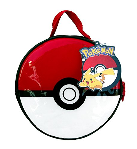 Pokemon Pokeball Lunch Kit 8.5 Inches Diameter x 3 Inches Height