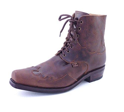 STARS & STRIPES Westerstiefel Henderson Braun - Cowboystiefel bzw. Cowboy Boots & Bikerstiefel Westernstiefel für Herren Braun
