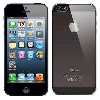 itronik® iPhone 5 5S 5SE ORIGINAL Premium Hardcase - Klar / Transparent (iPhone 5 5S Hülle - iPhone 5 5S Schutzhülle - iPhone 5 5S Case)