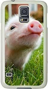 Cute Piglett Galaxy S5 Case, Galaxy S5 Cases - Compatible With Samsung Galaxy S5 SV i9600 - Samsung Galaxy S5 Case Durable Protective Case