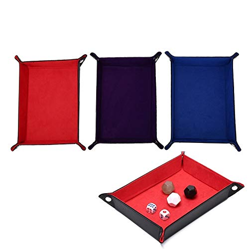 Fishing-Accessories - Folding Rectangle Tray Dice Holder