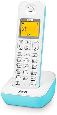 SPC TELECOM - Telefono inalambrico dect spc telecom air 7280 azul: Amazon.es: Electrónica