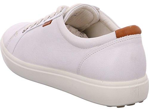 Lacets Ecco White à 7 Femme Derbies Soft TxTzq6wI0