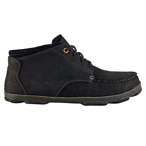 nbsp;pour Olukai Homme à Hāmākua nbsp;– Noir Gris Foncé chaussures nqWCZIRxq