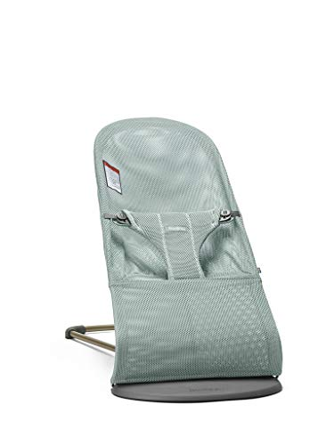 BABYBJORN Bouncer Bliss in Mesh, Frost Green for sale  Delivered anywhere in USA